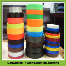 Durable plastic coated nylon webbing for dog collar