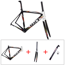 painting t800 ud cheap carbon frame Road bike size 50/53/55cm chinese carbon road frame