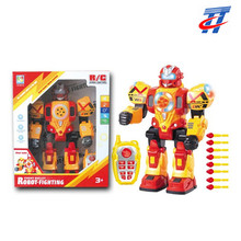 2018 kids remote control fighting robot toy