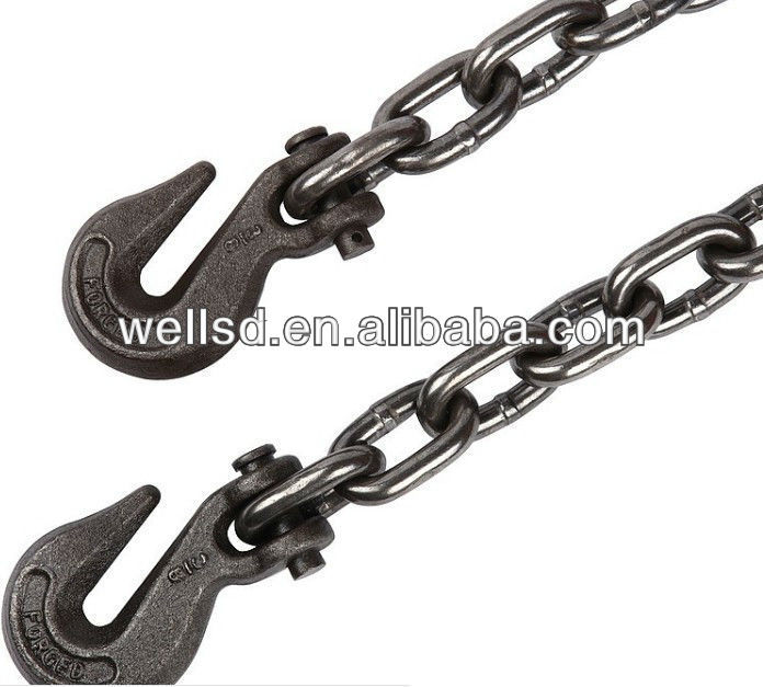 Chain factory directly selling TOP QUALITY G80 lifting chain with hook