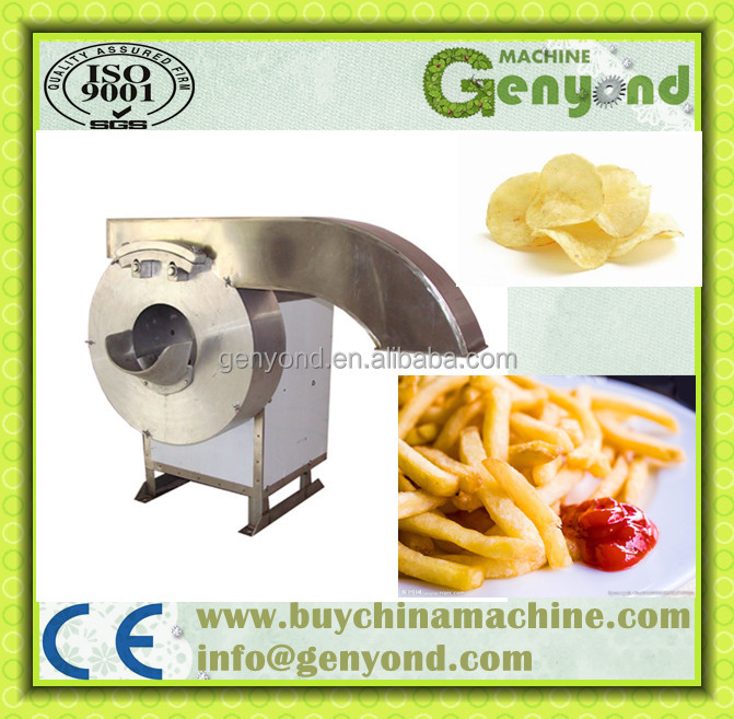 CE Standard Factory Vegetable Cutting Machine/Potato Chips Slicing Machine for Sale