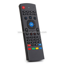 2.4G Air Mouse For Android Tv Box Multitask Qwerty Keyboard Mx3 2.4G 3D Air Mouse