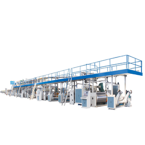 3/5 layers corrugated cardboard production line hebei