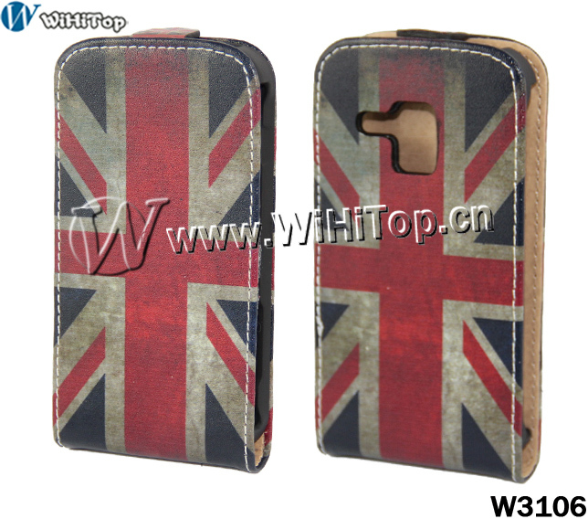 flip case galaxy duos s7562,Retro US UK National Flag Leather Case For Samsung Galaxy S Duos s7562