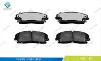 Car disc brake pad manufacturer D1056 05142555AA WVA 24166