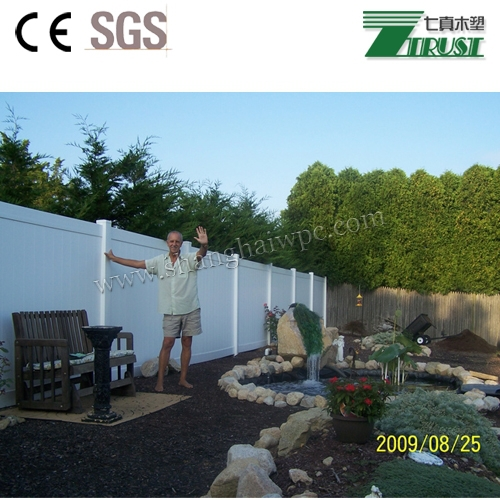 Eco Friendly Recycled PVC/Vinyl/Plastic Fence Used For Horse