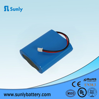 3S1P 11.1 V 2200mAh li ion battery pack 18650 11.1V rechargeable battery for vacuum cleaner