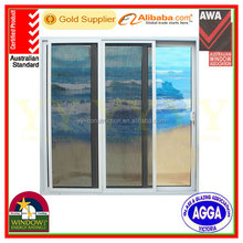 janelas de aluminio / aluminum framed double glazed sliding window