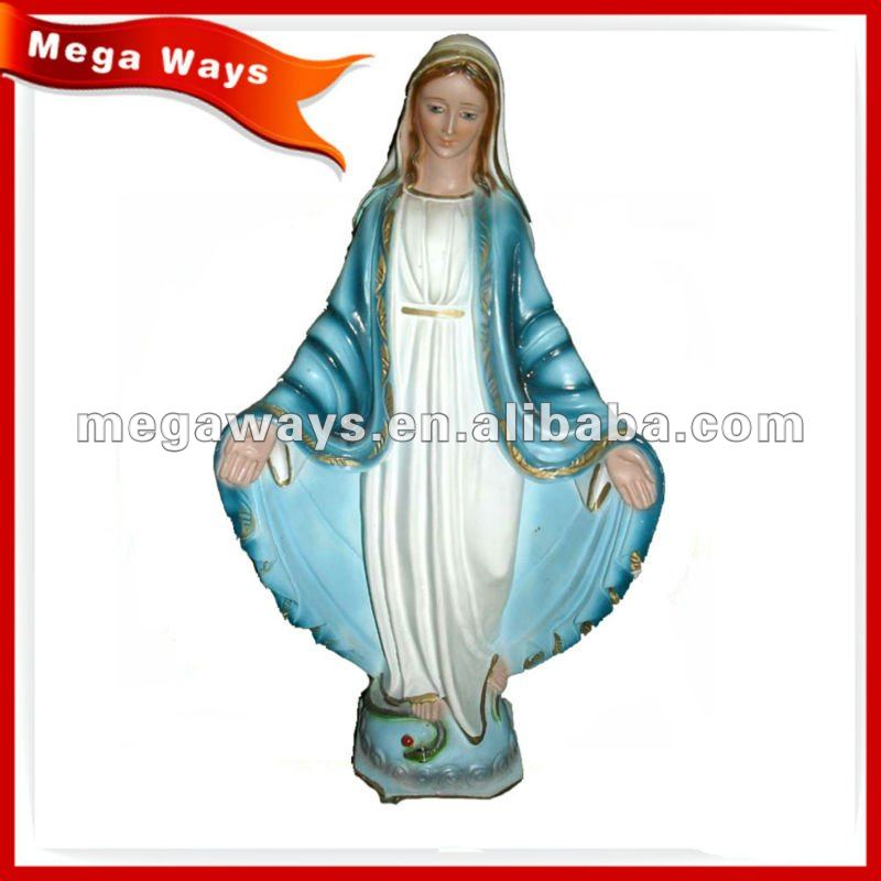 virgin mary Resin Religious Statue for decoration
