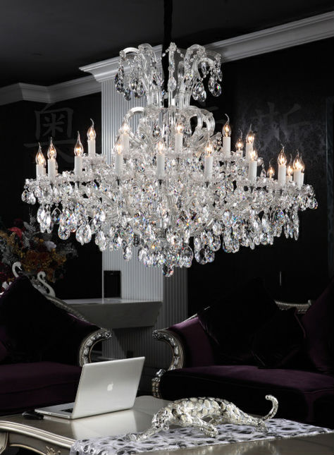 luxury new model chandelier silver lamp lighting made by Fonyan Lighting MDG53013