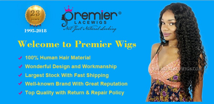 PREMIER Factory Large Stock Wholesale Price Best Price Ombre Blonde Human Hair Full Lace Wig