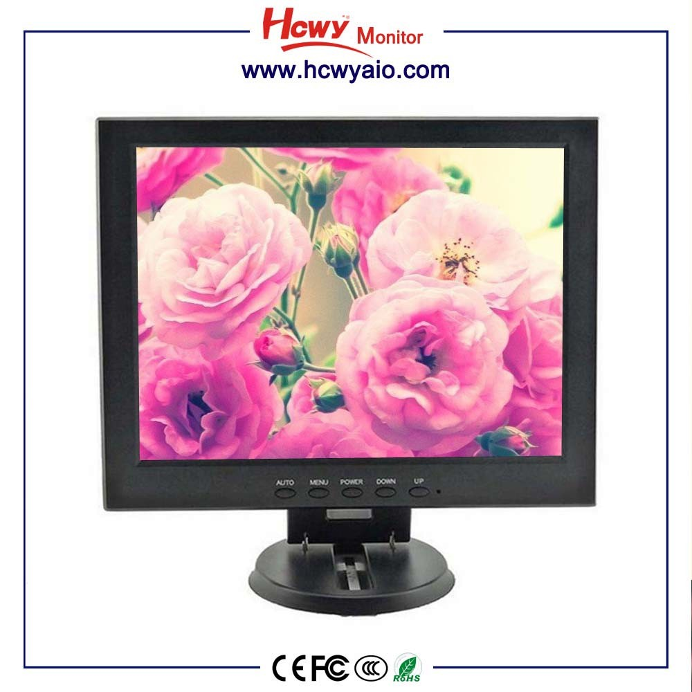10 inch 12 inch 15 /17/19/22inch lcd/led screen monitors(CE/ROHS/FCC) LCD Monitor 4:3 VGA input