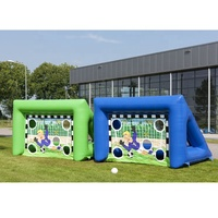 2019New Leap Hot Sport inflatable Soccer goal Games post Inflatable football goal for sale