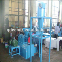 Waste Tire crushing machine / Scrap Tire cutting equipment / Used Tire Shredding Plant