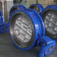 Electric Actuator Double Eccentric Butterfly Valve