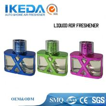 Good quality glass bottle and solid car Perfume