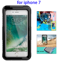 IPX8 Waterproof Silicone Protective Case for iPhone 7 Transparent price, Waterproof Case for iPhone 7