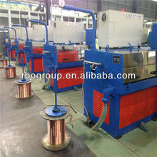 24WDS(0.1-0.6) Horizontal type copper fine wire drawing machine cable making equipment