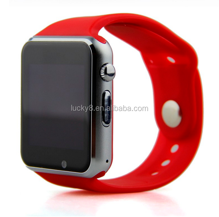 wholesale all kinds of special gift for friends anti-lost <strong>A1</strong> V8 Q8 180 Hours standby smart watch sim
