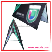 Simple Foldable Triangle Pop Up Banner Frame
