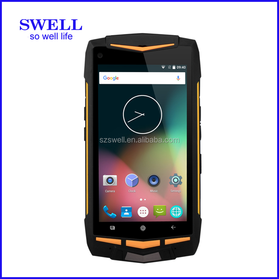 SWELL V1H mobile phone gps tracker android 5.1 4g randroid 5.1 4g rugged mobile phone Android AT&T RUGGED SMARTPHONE