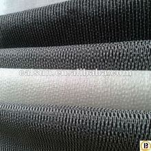 PES glue woven fusible interlining fabric/buckram