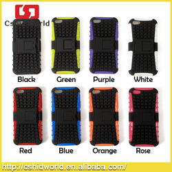 For iPhone 5 Armor Case Heavy Duty Shockproof Holster Hybrid Combo Cellphone Cases