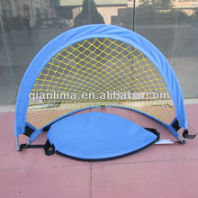 instant quick assembly pop up soccer football goal net