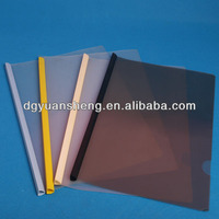 office product producer printing a4 size plastic folder binder spine bar