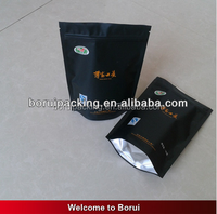 Accept Custom Order and Aluminum Foil,Matte OPP/VMPET/PE Material customized clear plastic bag