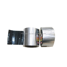 Self adhesive aluminium finished bitumen roofing tape/flashing tape