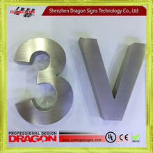 New advertising alphabet letters and large metal 3d logo signs