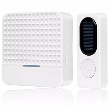Home Smart 300m Long Range solar powered Wireless Doorbell