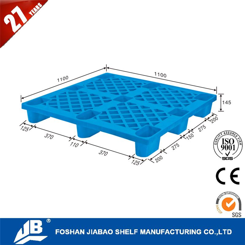 China factory euro plastic pallet 1200 x 800 steel reinforced plastic pallet with high quality