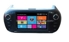 In-dash car multimedia gps for Citroen Nemo with dvd Navi RDS Bluetooth ipod SWC USB SD slot