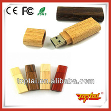 Oem natural wooden usb 2.0 flash drive