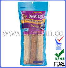 Recyclable retort food vacuum seal bags for dog food
