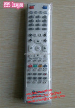 White 55 Buttons Universal remote cotrol for receiver o decoder for Chile market