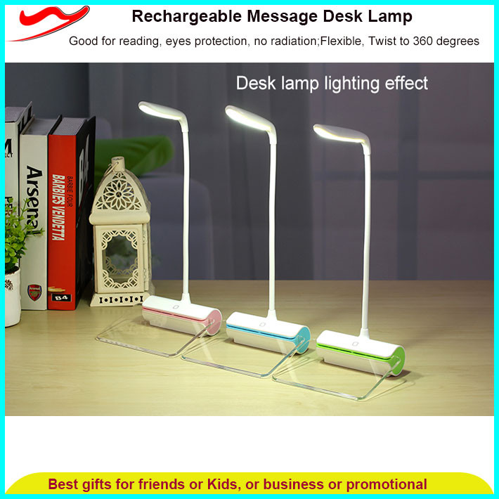High quality super powered led light Table lamp reading rechargeable flashlight