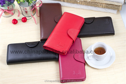 Natural Leather wallet for ladies Colorful women purse fine leather wallet snap clutch