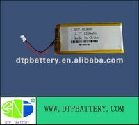 valve regulated lead acid battery li-polymer battery