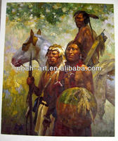Impressionism indian art painting handmade artwork