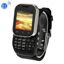 KEN XIN DA W1 Smart Watch Phone, 1.44 inch QCIF Touch Screen & Slide-out Keyboard, Support Dual SIM, Bluetooth, FM Radio, MP4