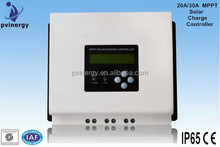 Smart size MPPT Solar Charge Controller 20A/30A