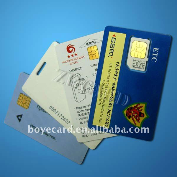 Die-up Chip Card/Contact IC Card