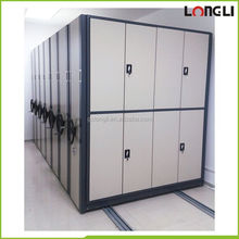 Corrosion protection fire proof stainless steel mobile filing cabinet mobile storage cabinets