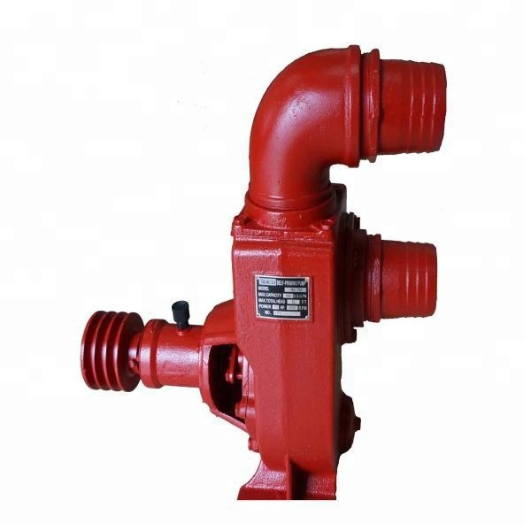 New type industrial self priming diesel engine centrifugal sewage water pump