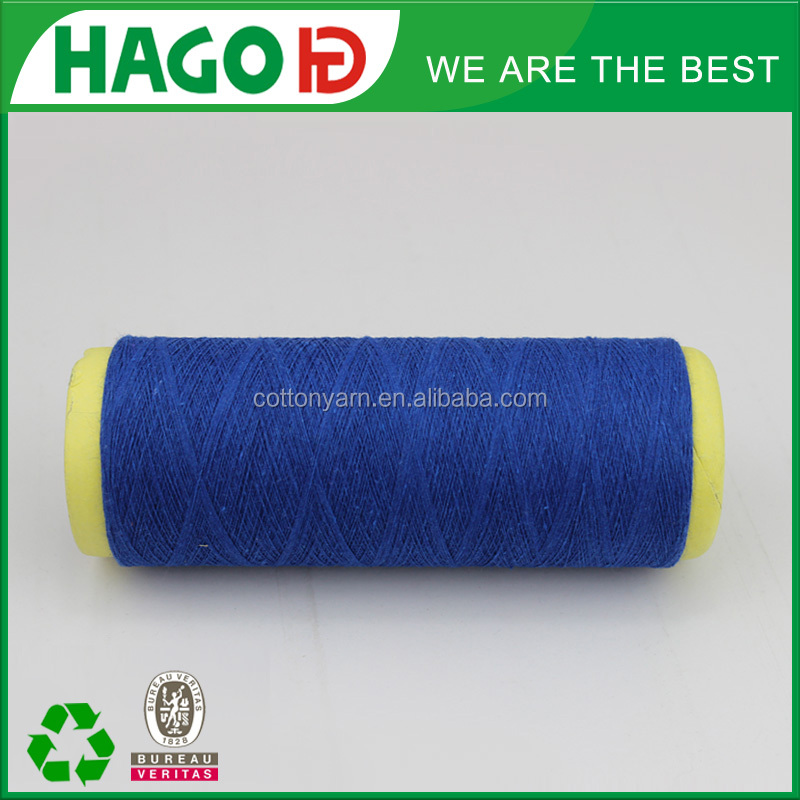 wholesale recycled cotton mixture yarn for knitting machine
