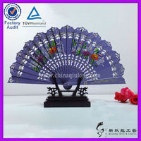 hand made decorative wooden fan