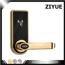 single latch hotel lock with card key easy replace ET818RF